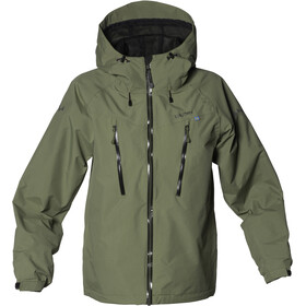 Isbjörn Teens Monsune Hard Shell Jacket Moss